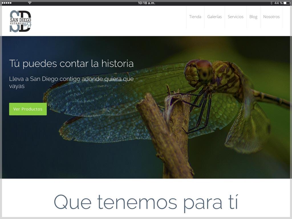 Web de SD Estampa 1657