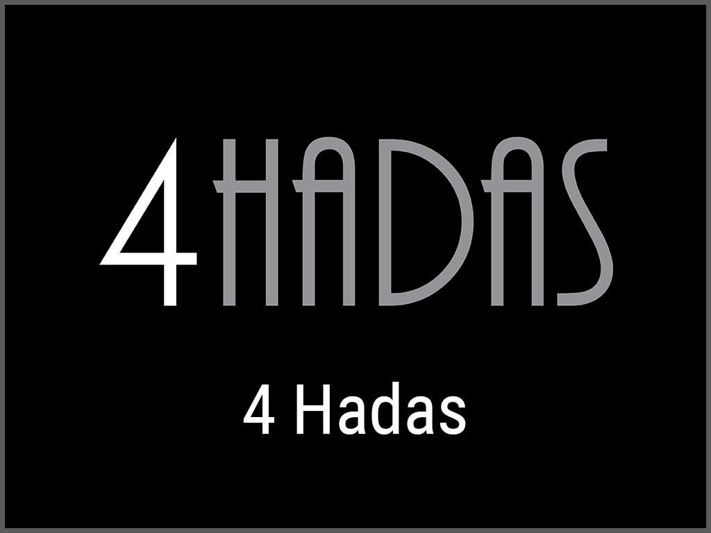 Logo e Imagen Corporativa de 4 Hadas