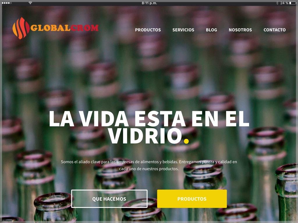 Web de Globalcrom