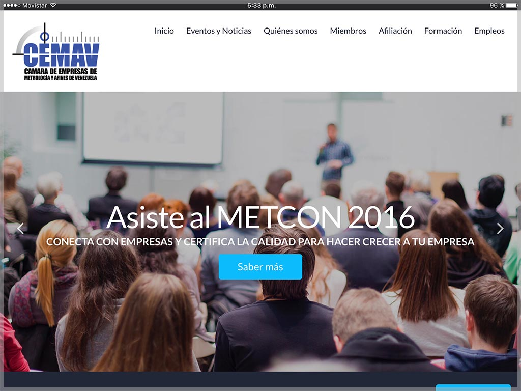 Web de la CEMAV