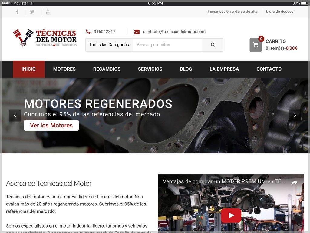 Web de Técnicas del Motor