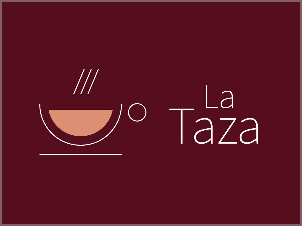 Logo de Café La Taza