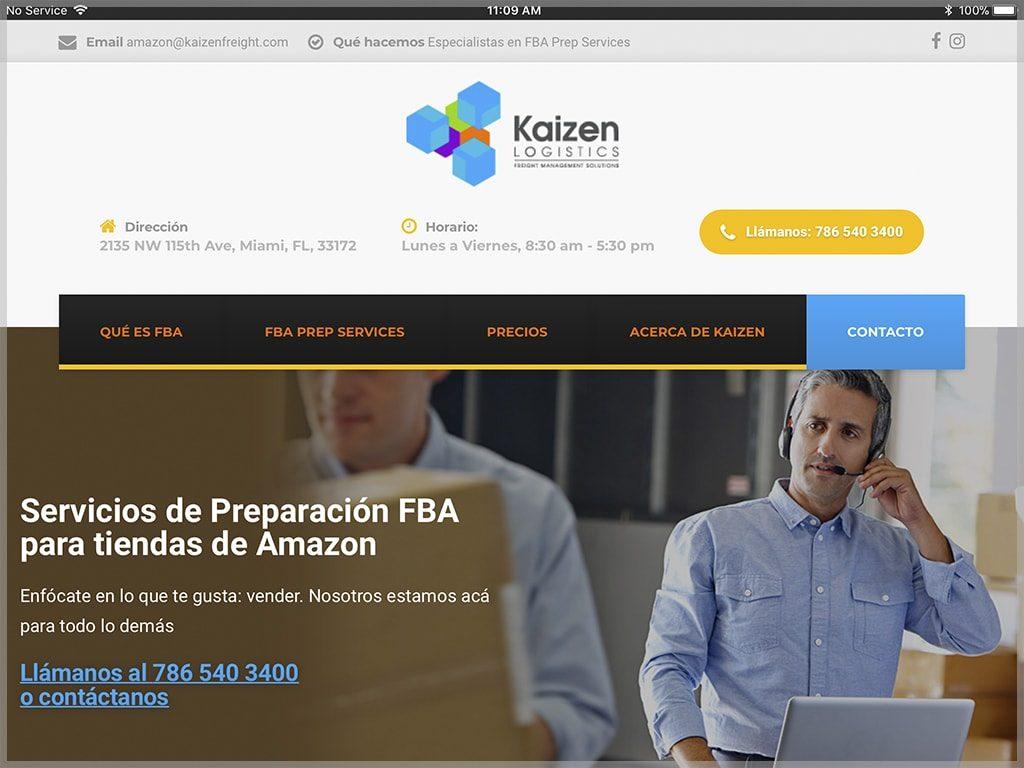 Web de Kaizen Prep Services