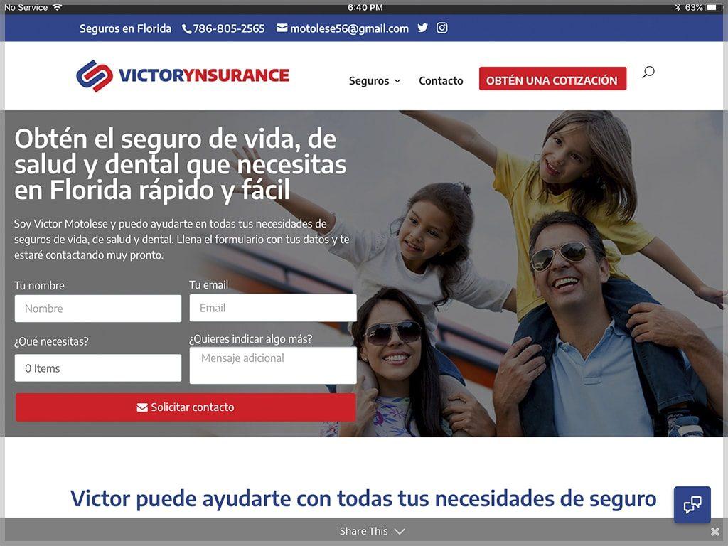 Web de Victorynsurance
