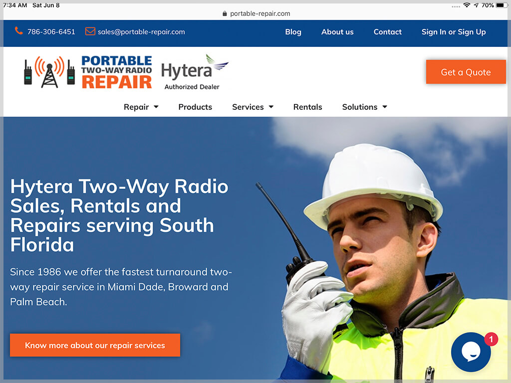 Portable Repair