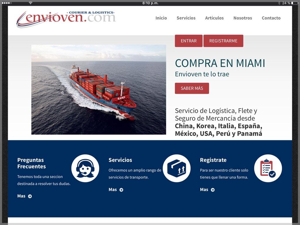 Envioven Website