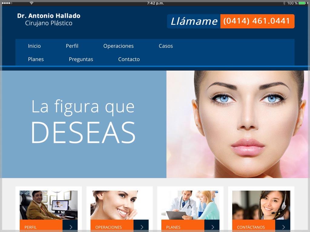 Antonio Hallado Website
