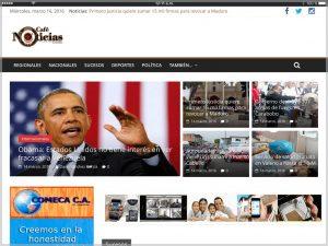 Cafe Noticias Carabobo Website