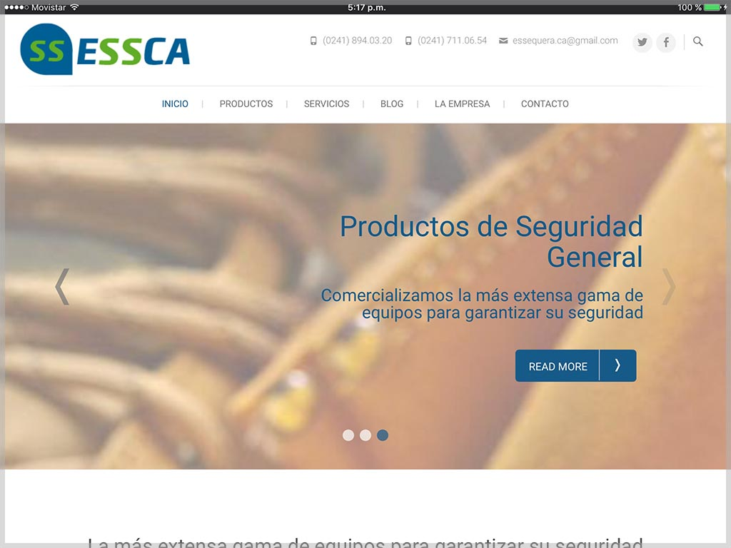ESSCA Website