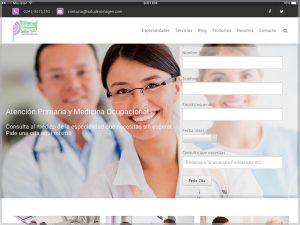 Salud en Imagen Website