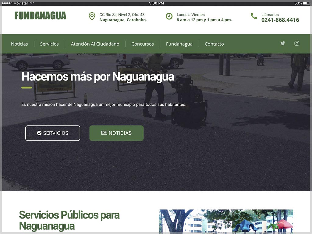 Fundanagua Website