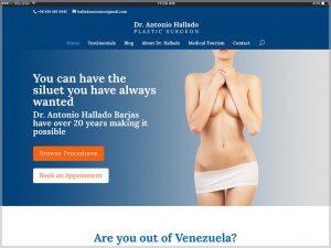 Dr. Antonio Hallado Website 2017