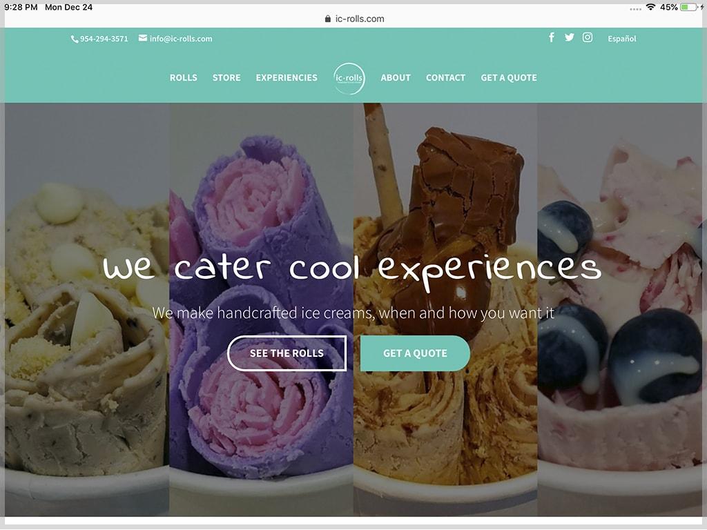 IC-Rolls Website