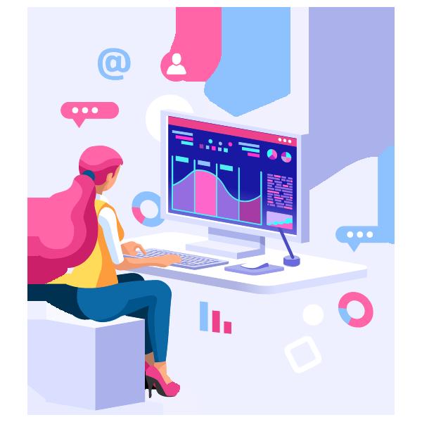 We insert Google Analytics in websites