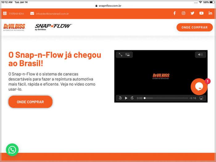 Snap-n-Flow Website