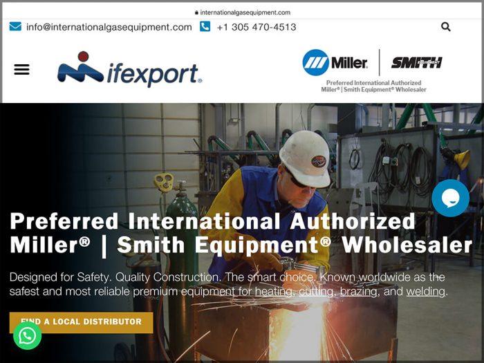 International Gas Equipment Website