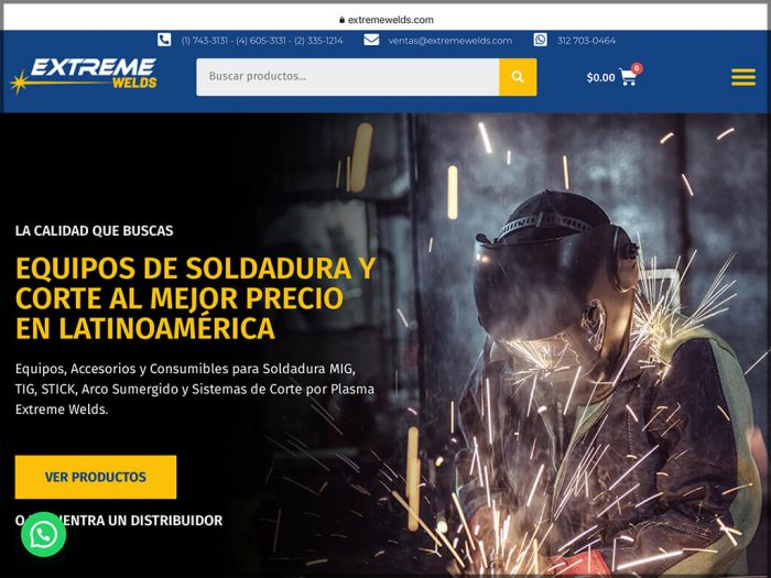 Extreme Welds Website